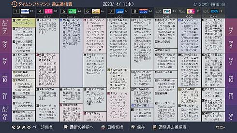 仙台 テレビ 番組 表