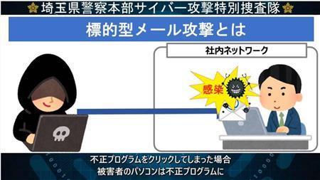 テレワークで高まるサイバー攻撃リスク 注意喚起を強化 埼玉県警 ...