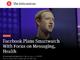 Facebook、スマートウォッチを来年発売か──米報道