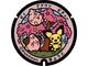 京都市内5カ所にポケモンのマンホールふた 「ホウオウ」降臨、「ピチュー」「ピィ」も