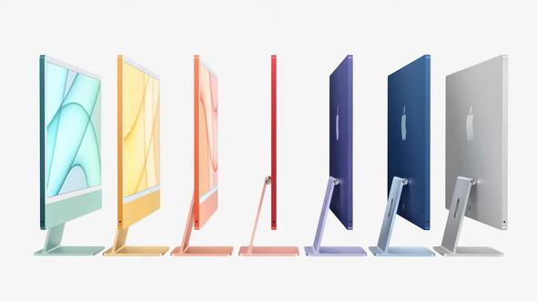 【PC】M1搭載の薄い「iMac」登場 Touch ID付きMagic Keyboardも