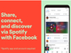 Spotifyの音楽をFacebookのNews Feed上でシェアし、その場で再生可能に
