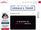 トランプ前大統領、ひとりでツイートのような投稿をするWebサイトを開設
