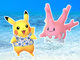ポケモンGOに「かりゆしピカチュウ」登場 7月から沖縄限定で 色違い「サニーゴ」も