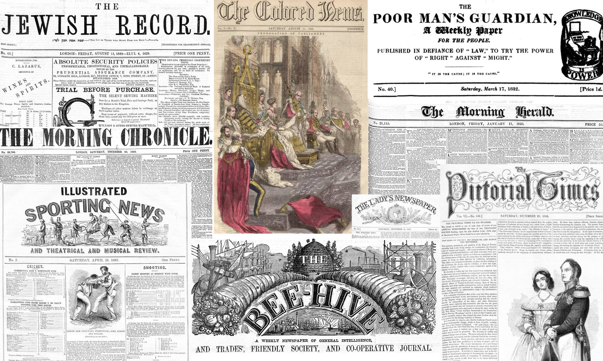 18~19世紀の新聞データ100万ページを英国企業が無償公開 商用利用は条件付きで可