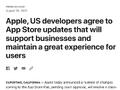 Apple、アプリストア訴訟で開発者と和解 支払いオプションについてユーザーとの直接交渉を認める