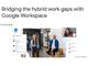 Google、ハイブリッドワーク支援の「Workspace」新機能とハードウェアを発表