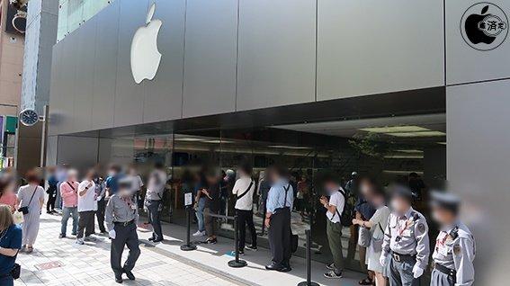iPhone 13シリーズ、新iPad mini、新iPadがApple Storeで販売開始 Apple Store店舗内の様子