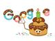 9月27日のGoogle Doodleは創立23周年のバースデーケーキ