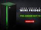 Microsoft、「Xbox Series X」そっくりなミニ冷蔵庫を100ドルで今冬発売