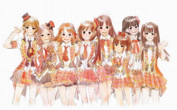 アニメ化のAKB48
