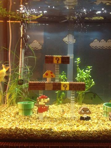 for Mario fish tank