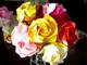 なるほど、わからん:折り紙でバラを作る動画がすげええええええええ