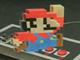 日々是遊戯:いつから立体だと錯覚していた? 床に描かれたマリオがどう見ても立体