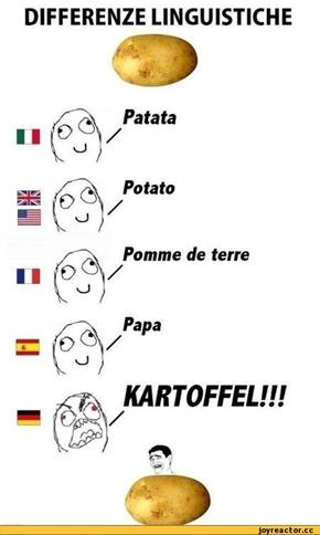 ドイツ語の発音をネタにした画像...