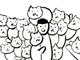日めくりねこまんが:【完結】毎日1コマ連載中! 「ネコキ」