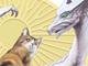 東京都美術館で「猫とドラゴン展」 開田裕治、近藤るるるら参加