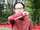 世界よ、これが日本のサムライだ——仕込み刀のようにiPad&iPhoneを取り出す装置がかっこよすぎる
