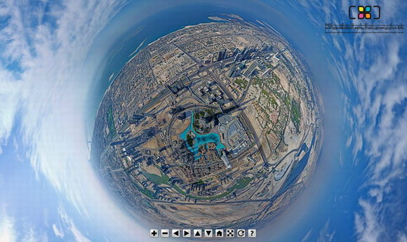 little planet view