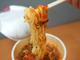 「衝撃の辛さ」とやらを見せてもらおうか…… 真っ赤なスープの「カップヌードル レッドショック」を食べてみた