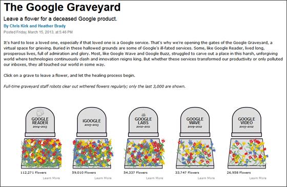 Googleリーダーがついに終了 データのバックアップは7月15日まで、いそげ!