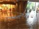 九州北部地方の各地で豪雨 北九大の構内に滝やプール、複合施設リバーウォークがリバーに