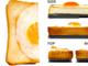 うそみたいだろ、これ……ケースなんだぜ つやつや半熟の黄身がたまらん「目玉焼きパン」iPhoneケース