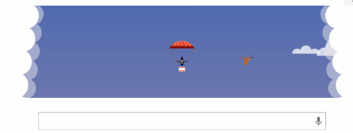 Googleトップページが世界初パラ...