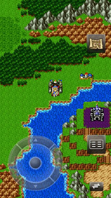 ラダトーム城 マップ