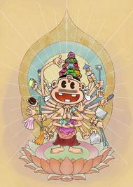 漫画家による仏の世界展