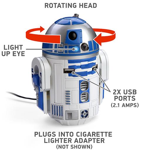 画像(R2-D2のUSB社内充電器2)