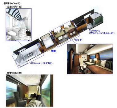 JR西日本の新寝台列車