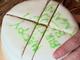 数日経ってもホールケーキの断面がパサパサにならないケーキの切り方