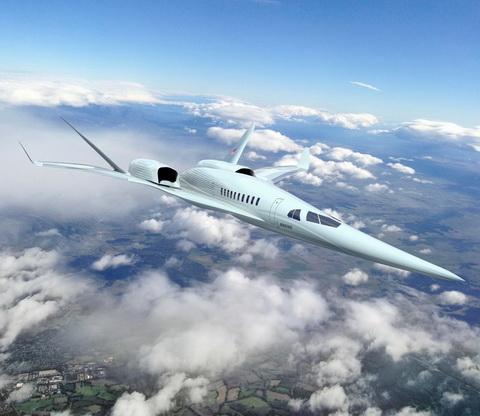 次世代超音速旅客機