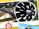 東京サマーランドの新アトラクション「デカスラ」がスリル満点 巨大な漏斗に吸い込まれる!?