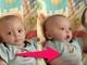なんだその動きは! リモコンを見せると謎の興奮状態になっちゃう赤ちゃん