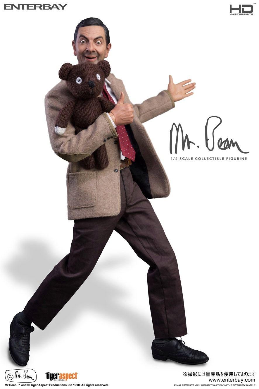 Mr.ビーンの4分の1スケールフィギュアが精巧すぎてびびる