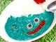 食べてほしそうにコチラを見ている! ヴィレッジヴァンガードより青い「スライムカレー」爆誕