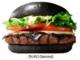 バーガーキングから再び黒バーガー チーズも真っ黒