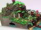 この滝……動くぞ!? レゴでできた「海賊島」の完成度が高すぎて完全に変態