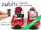結ぶ必要なし! 靴ひもの概念を変える画期的な磁石グッズ「Zubits」が超便利そう