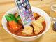これはいい飯テロ……! 職人による手作り「食品サンプルスマホスタンド」 スープカレーなど3種類が登場!
