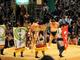 ジャンプ「火ノ丸相撲」の懸賞幕がいよいよ土俵に 日本相撲協会がツイートした写真が斬新