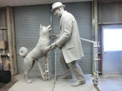 ハチ公の飼い主で有名な上野先生の胸像展示   東京 …