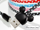 USB�|�[�g�ɍ������ނƃ~�b�L�[���Ђ������I�@�~�b�L�[�̏[�d�P�[�u������