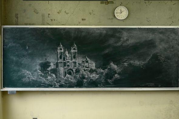 古城 城の絵 宮部みゆき
