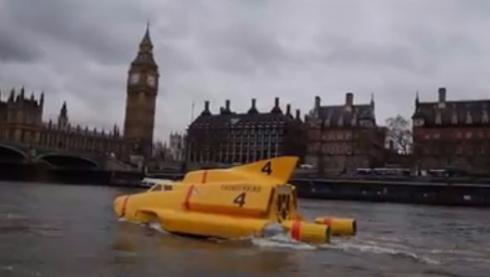 テムズ川にサンダーバード4号が出現! 「Thunderbirds Are Go!」のプロモーション動画がステキ