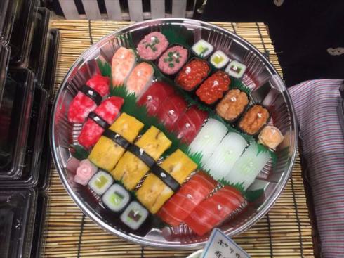 お寿司キャンドル