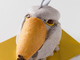 ケーキで作ったハシビロコウ再来! ことりカフェで「ハシビロコウ祭り」開催