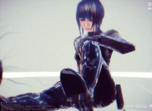 3D草薙素子